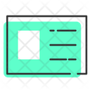Name Profile Info Icon