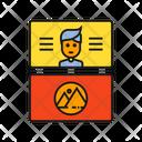 Business Card Branding Design Identity Icon