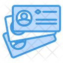 Business Card Employee Id Employee Information Icon