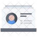 Card Contact Details Icon