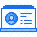 Business Card Contact Icon