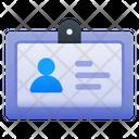 Business Card Id Card Identity Card Icon