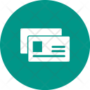 Business cards Icon