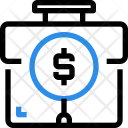 Financial Business Case Icon