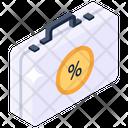 Business Case Briefcase Dollar Briefcase Icon