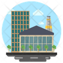 Business Center Office Suite Office Building Icon