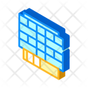 Business Center Isometric Icon