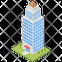 Commercial Building Skyscraper Tower Building Icon