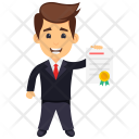 Business Certificate Icon