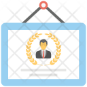Business Certificate Year Icon