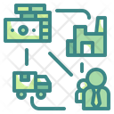 Business Chain Supply Chain Icon