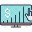 Business Chart Marketing Money Growth Icon