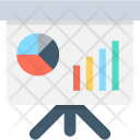 Statistics Presentation Bar Icon