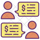 Mbusiness Collaboration Business Chat Money Conversation Icon
