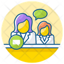 Business Chat Financial Message Financial Chat Icon