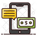 Business Chat Business Communication Financial Discussion Icon