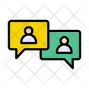Discussion Chat Users Icon