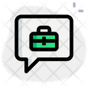 Business Chat Job Chat Conversation Icon