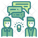 Business Chat Business Chatting Discussion Icon