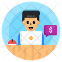 Financial Chat Business Chat Online Chat Icon
