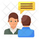 Conversation Comments Consultation Icon