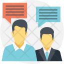 Business Communication Dialogue Icon