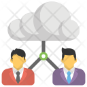 Cloud User Remote Icon