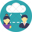 Business Community Cloud Icon