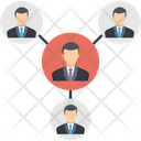 Business Community Network Icon