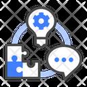 Competencies Organization Advantage Icon