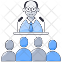 Business Conference Business Meeting Business Training Icon