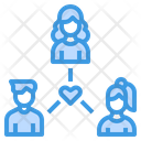 Business Connection Team Icon