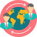 Business Connectivity World Icon