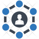 Business Connectivity Management Business Icon