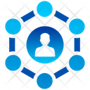 Business Connectivity Online Business Engineering Icon