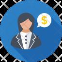 Business Consultant Adviser Icon