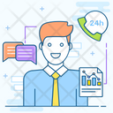 Discussion Consulting Business Conversation Icon