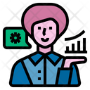 Business Consultant Job Occupation Icon