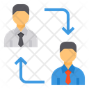 Business Contact Employee Connection Connection Icon