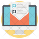 Business Contacts Networking Icon