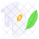 Business Contract Agreement Corporate Terms Icon