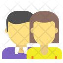 Business Couple Couple Partners Icon