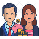 Business Couple Icon