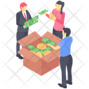 Business Crowdfunding Icon