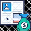 Business Cv Icon