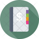 Business Dairy Dollar Icon
