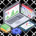 Business Data Analytics Project Analysis Icon