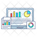 Data Evaluation Business Data Business Planning Icon