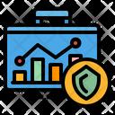 Data Research Graph Icon