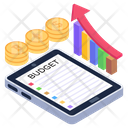 Business Data Report Icon